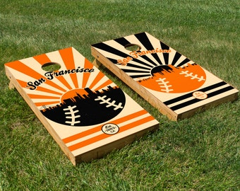 San Francisco Giants Cornhole Board Set