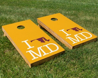Washington Football Pride Cornhole Board Set