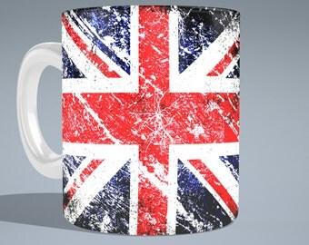 Union Jack Flag Mug
