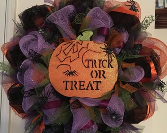 "Halloween Wreath 24"""