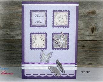 Birthday card / card Anne