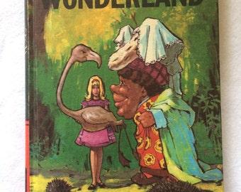 Vintage Alice in Wonderland by Lewis Carroll Hardback Book