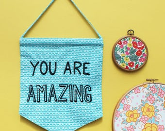 You Are Amazing' Flag