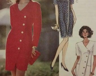 Classic wrap dress pattern