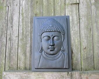Buddha Plaque Plastic Moulds Molds Concrete Plaster
