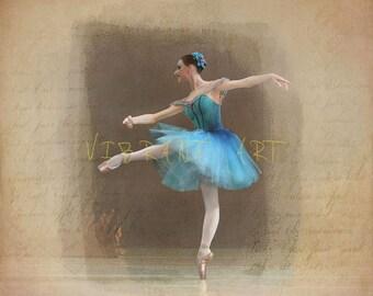 Ballet art photograph
