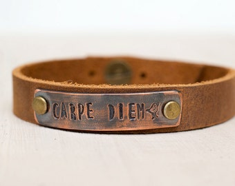 CC Antique Copper Bracelet