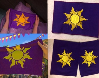 Disney Tangled Kingdom flag
