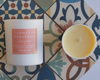 Orange Blossom - essential oil candle