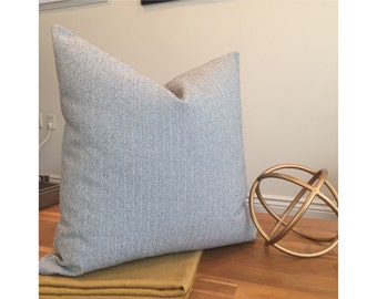 "Herringbone 20"" x 20"" pillow"