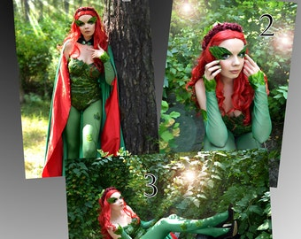 Poison Ivy DC Comic Batman Cosplay Print - Signed