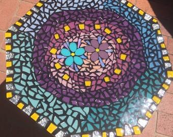 Mosaic table handmade