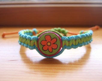 Scooby Doo Inspired Friendship Bracelet