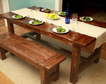 Items Similar To Custom Made Picnic Tables Outdoor Tables