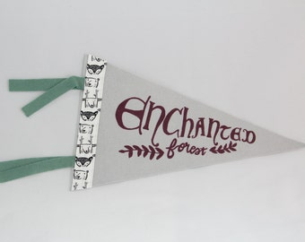 Enchanted Forest Pennant