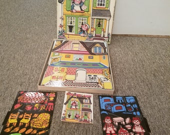 Rageddy Ann and Andy Colorforms