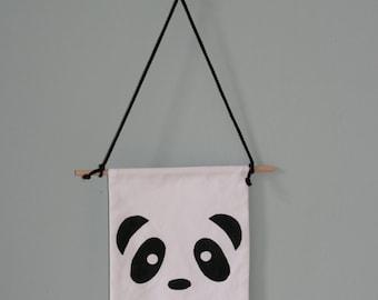 Wall Flag Panda