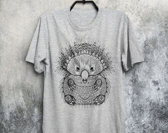 Hedgehog T-shirt Hedgehog Shirt Porcupine Shirt