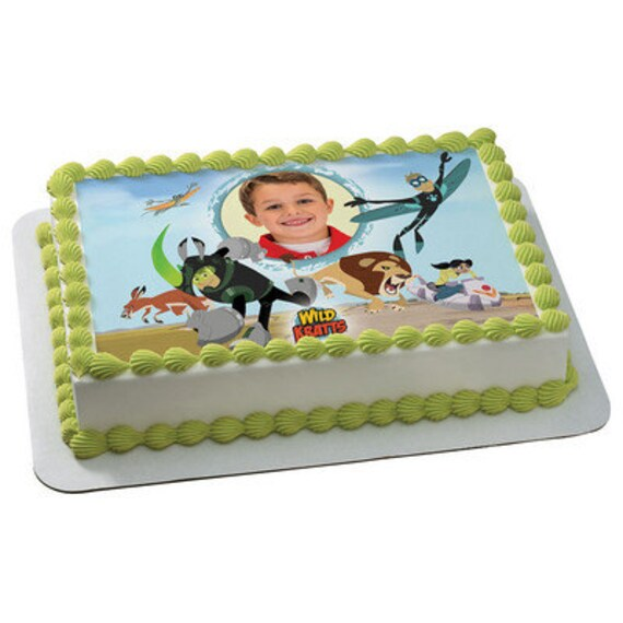 Cake Mate Decorating Icing Shelf Life : Wild Kratts Creature Rescue Picture Frame Edible Cake Topper