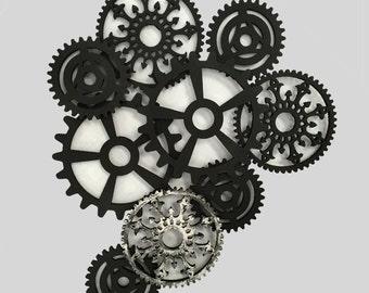 Gear Art (silver)