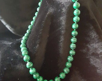 Beautiful Malachite Necklace