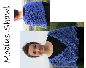 Mobius Shawl Hand-Knit