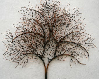 Copper Tree Wall hanging