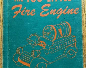 The Too Little Fire Engine Hardback Book 1950