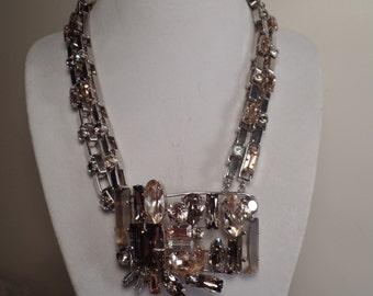Daniel Swarovski Paris Couture Necklace-Wow!