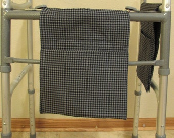 Walker Tote Bag  Hounds tooth print (# 602)