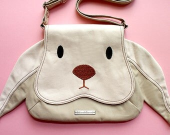 Sling Purse - Chubby Bunny Sling Purse (Cream Bunny)