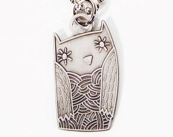 Boygirlparty owl necklace jewelry, owl necklace for girls, owl necklace charm, owl charm necklace young girls jewelry