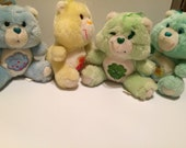 Mini Care Bear - 4 Vintage Care Bear's