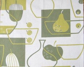 Retro kitchen fabric kitsch repro