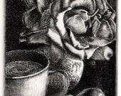 Still Life Roses Coffee B...