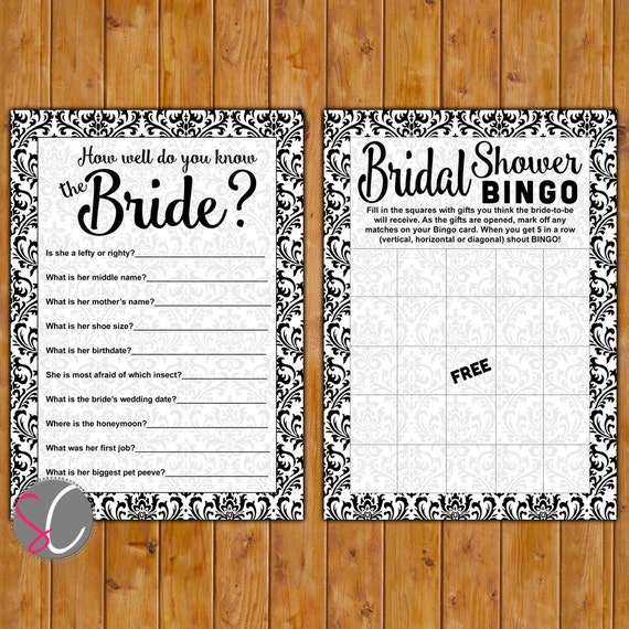 Items Similar To INSTANT DOWNLOAD Bridal Shower Party