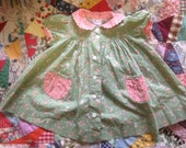 Vintage Baby Girl's Dress and Bloomers