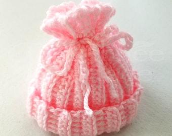 Crochet Baby Hat, Crocheted Baby Hat, Handmade Baby Hat, Baby Shower Gift, Newborn Hat
