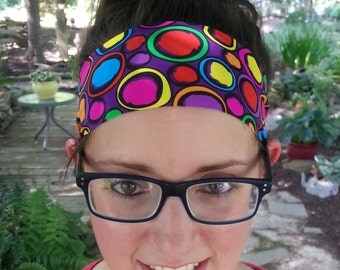 Headband | Yoga Headband | Athletic Headband | Sporty Headband | Spandex | Wide  | Activewear Headband