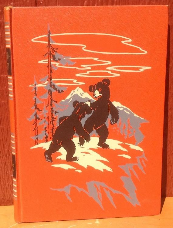 Childcraft Volume 4 Animal Friends and Adventures - 1949 - Vintage Kids Book