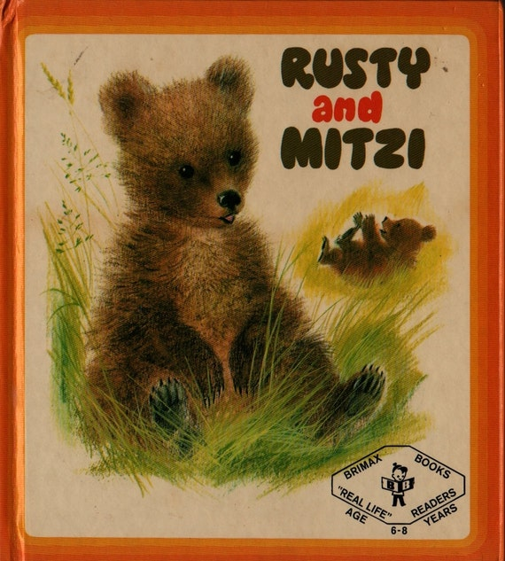 Rusty and Mitzi - Rosalind Sutton - Romain Simon - 1971 - Vintage Kids Book