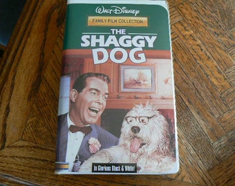 The Shaggy Dog VHS Movie in great condition (Clamshell)