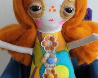 Mum Cut My Ginger Hair Luflie Doll