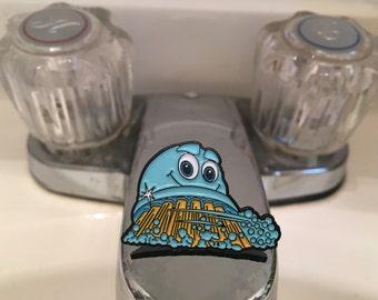 Scrubbing Bubbles Enamel Pin