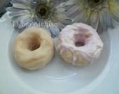 NEW My Handmade Doughnut Donut Design Silicone Soap Mold Beautiful DIY Craft Wedding Favors Birthday Faux Food