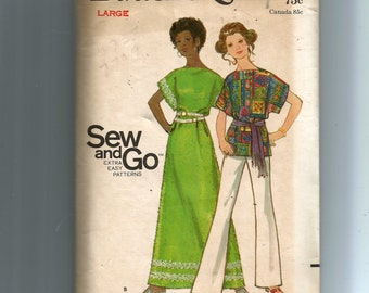 Butterick Misses' Cover-Ups  Pattern 5798