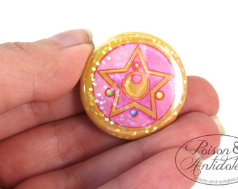 NEW HOLOGRAPHIC Miracle Romance Transformation Brooch