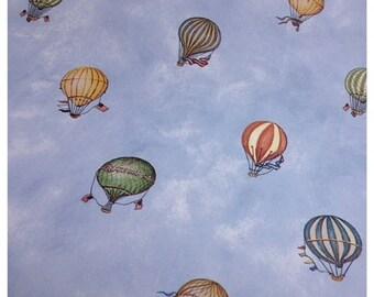 30% OFF SUPER SALE- Hot Air Balloon Wallpaper-Scrapbooking-gift wrap-decor