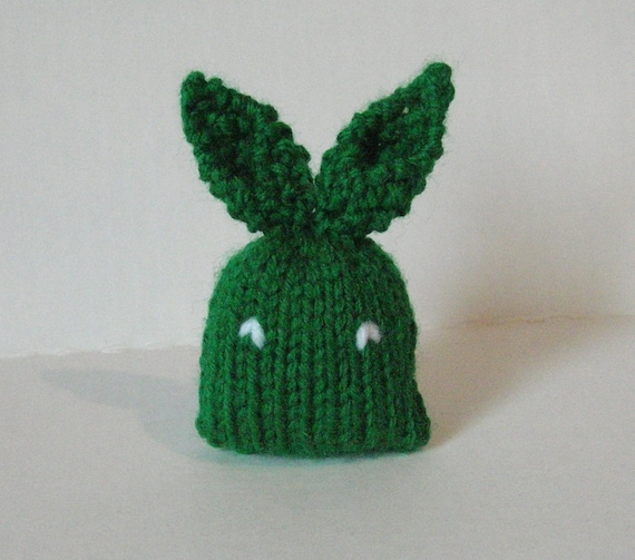 Small Toy Rabbits : Stuffed bunny mini plushie rabbit toy green