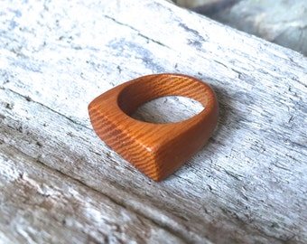 U-shaped Osage Orange ring - 9.75